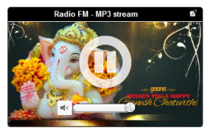 HTML5 MP3 Player Radio KPlaye