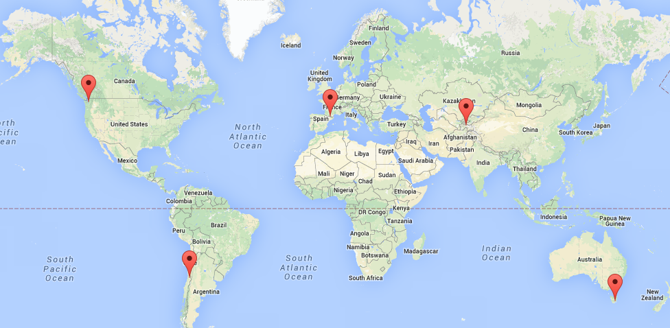 Statistics on GoogleMap