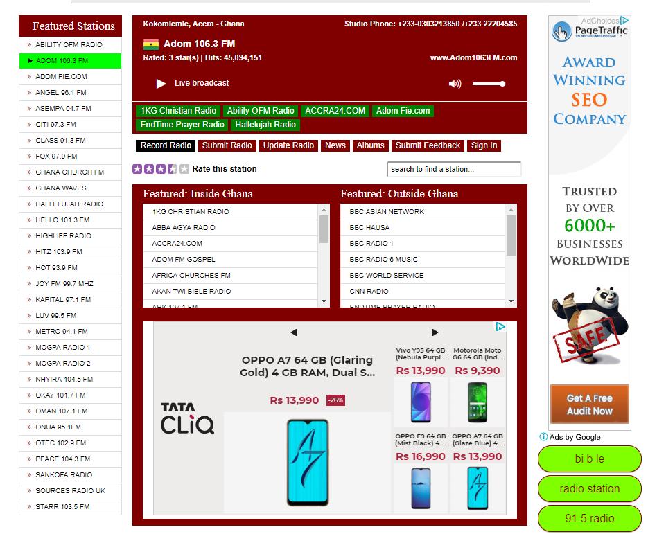 Icecast Directory
